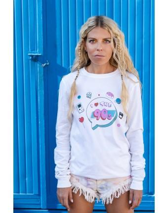 I Love 90s T-Shirt White
