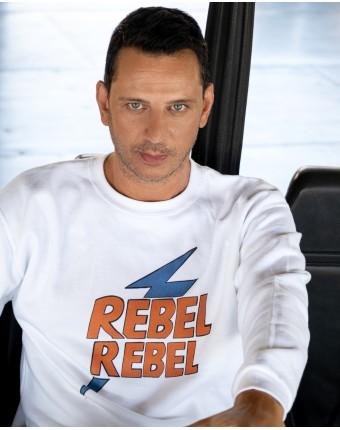 Rebel Sweater White