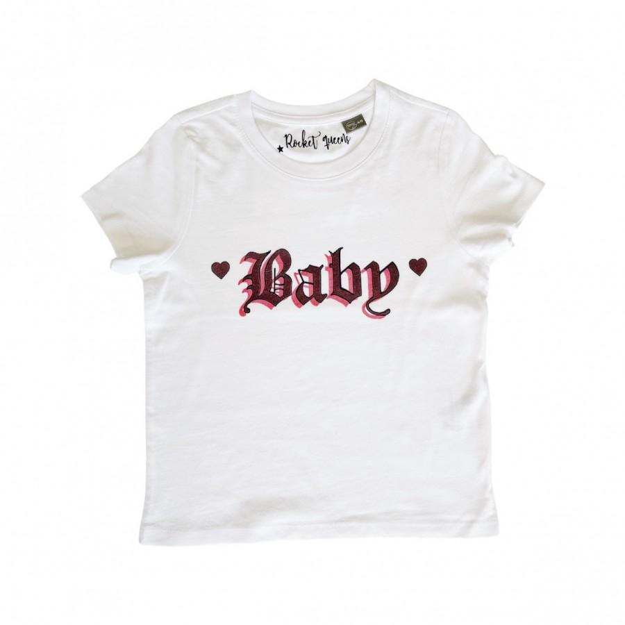 Baby T-Shirt White CHILDREN
