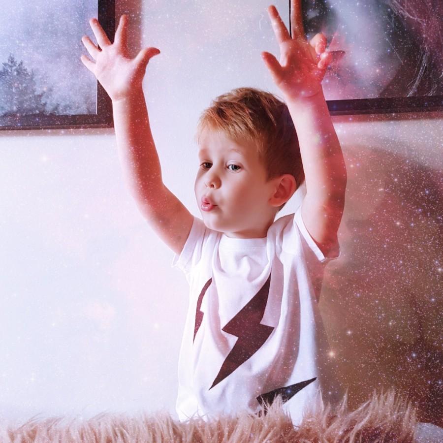 Thunder T-Shirt White CHILDREN