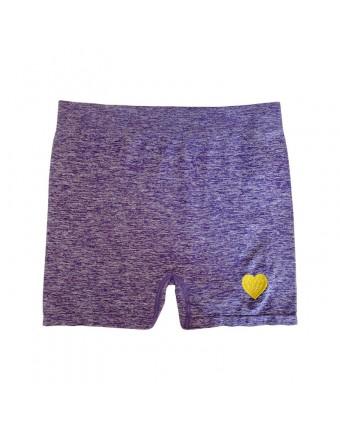 The Heart Sports Shorts Purple