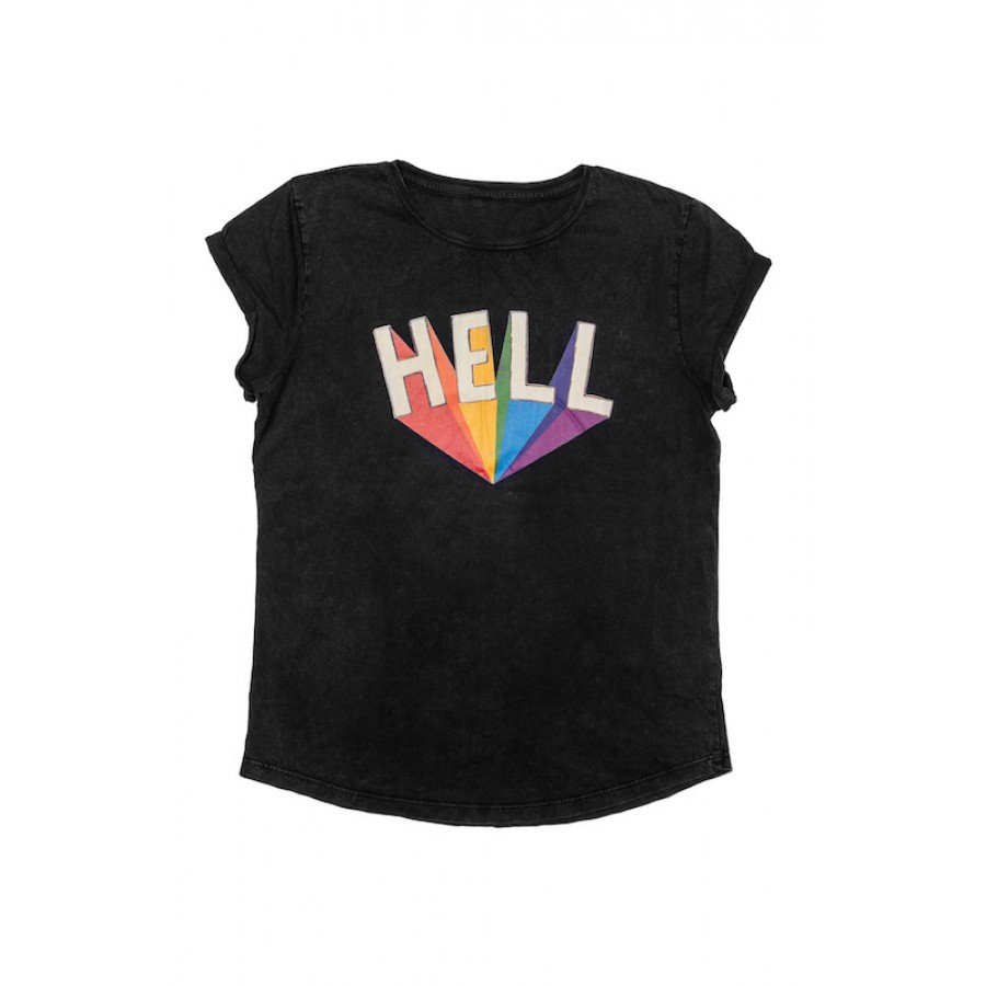Hell T-Shirt Black WOMEN