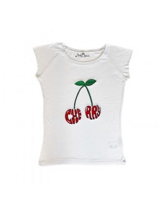 Cherry T-Shirt White