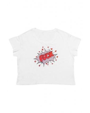 Fuck Retro T-Shirt White