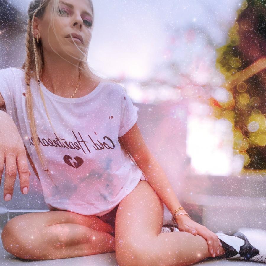 Heartbreaker T-Shirt White WOMEN